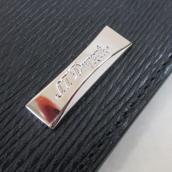 デュポン 長財布 長束 本革 ブラック 180310 小銭入れ無し S.T. Dupont/送料無料|saponintaiga|06