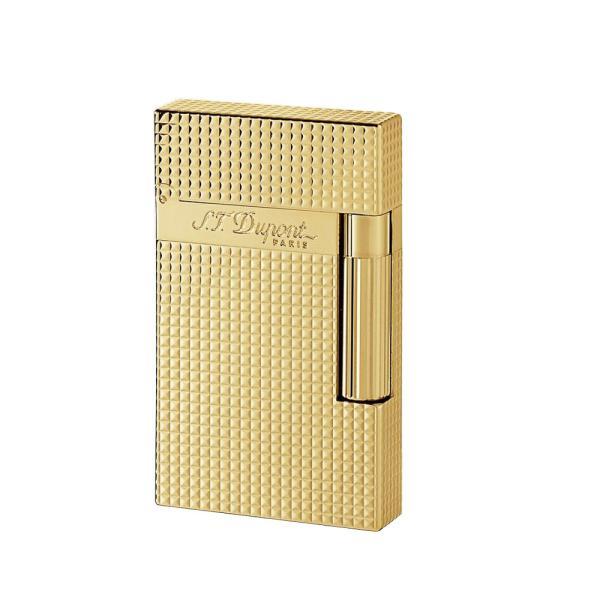 デュポン ライター ライン2 ダイアモンドヘッド ゴールド 016284/1589 日本正規品 代金引換便不可品/送料無料 代金引換便不可品