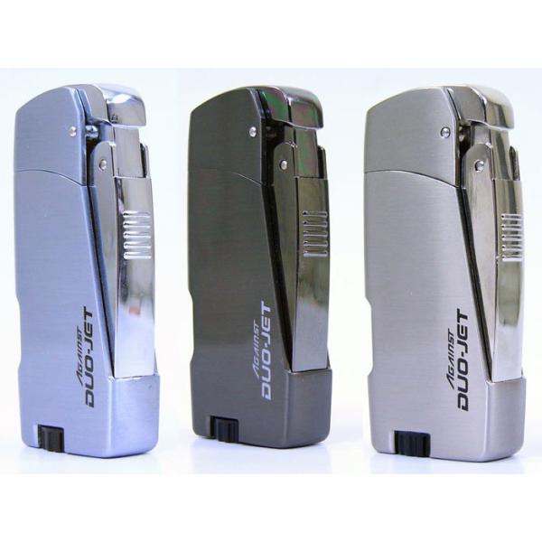 ターボ ツインジェットライター ツインライト ガス注入式 AGAINST DUO-JET x12本/卸/