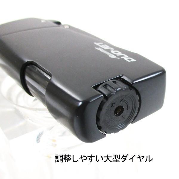 ターボ ツインジェットライター ツインライト ガス注入式 AGAINST DUO-JET 艶消しブラック saponintaiga 05