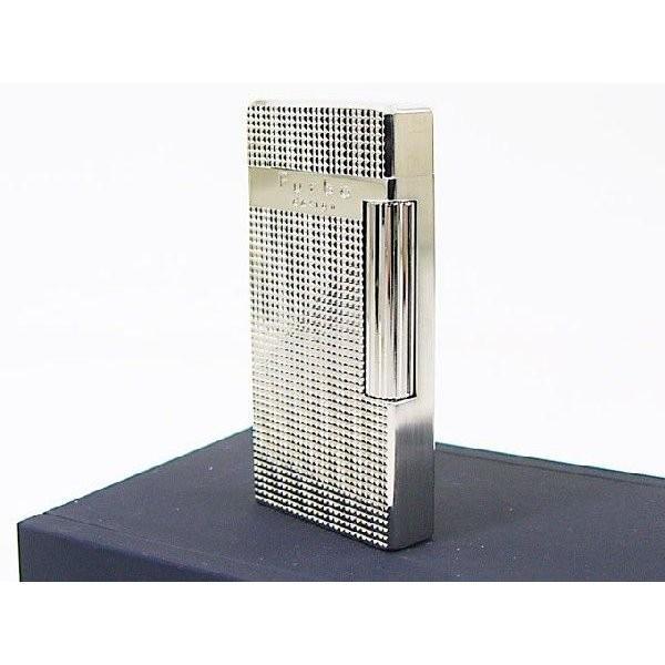 Furboフルボ フリントガスライター ダイアナシルバーサテーナ 格子彫刻 FD100-04 + ガス&フリントギフトセット/送料無料|saponintaiga