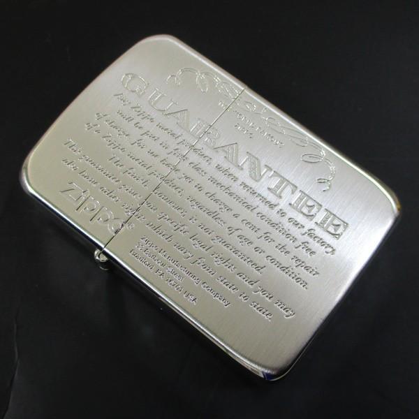ジッポー ライター 1941復刻版 #1941ギャランティ柄 銀サテン 41GRT-SS/送料無料メール便|saponintaiga|03