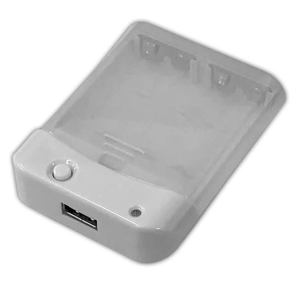 乾電池式スマホ充電器 電池交換充電器 乾電池式モバイル充電器 充電器・バッテリー類 HD-AA4WHM 1071 HIDISC/送料無料メール便 ポイント消化|saponintaiga|11