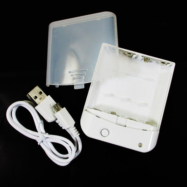 乾電池式スマホ充電器 電池交換充電器 乾電池式モバイル充電器 充電器・バッテリー類 HD-AA4WHM 1071 HIDISC/送料無料メール便 ポイント消化|saponintaiga|06