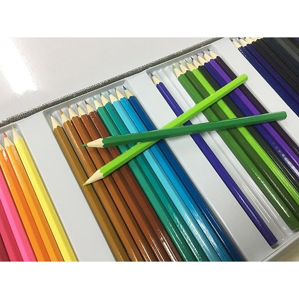 缶ケース入り 色鉛筆50色セットx3個セット/卸/|saponintaiga|03