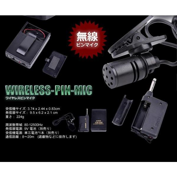 ワイヤレスピンマイク ET-WIMIC KONGINx3台/卸/