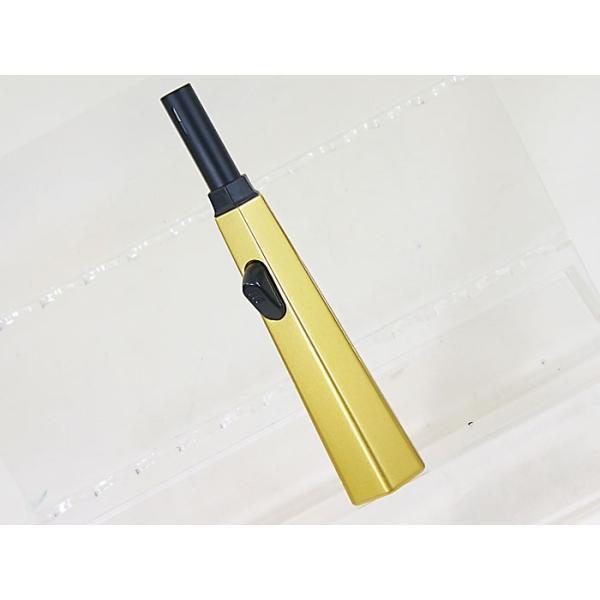 ライテック 2年保証 注入式 点火棒ターボライター 優火ジェット 金/送料無料