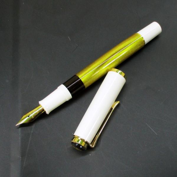 ペリカン 万年筆 特別生産品 クラシック M200 ゴールドマーブル ペン先EF/送料無料|saponintaiga|04