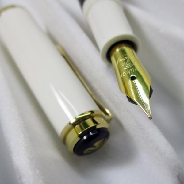 ペリカン 万年筆 特別生産品 クラシック M200 ゴールドマーブル ペン先EF/送料無料|saponintaiga|06
