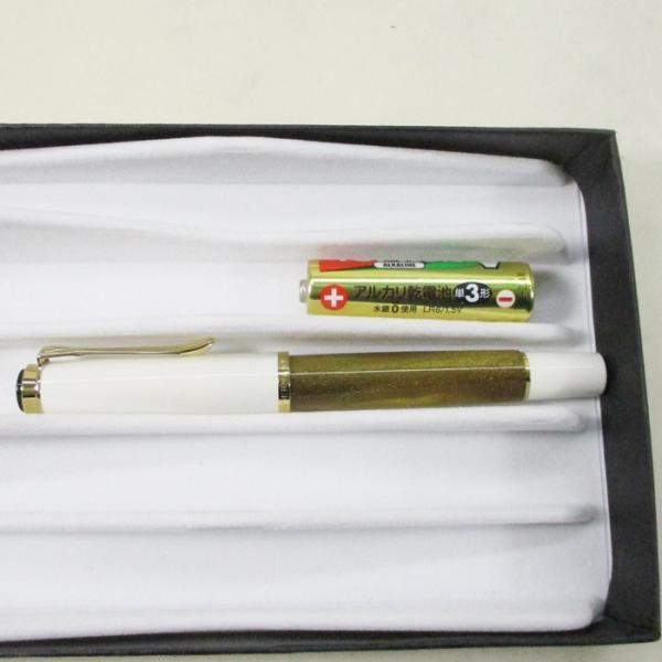 ペリカン 万年筆 特別生産品 クラシック M200 ゴールドマーブル ペン先EF/送料無料|saponintaiga|09