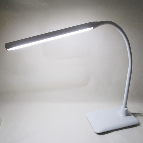 デスクライト LED 目に優しい スタンドライト 学習机 学習用 電気スタンド 卓上ライト 明るさ調整 調光 照明 読書灯 MEL-161/送料無料 saponintaiga 03