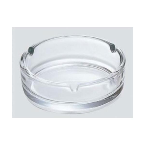 卓上灰皿 日本製 ガラス製/アルジェ(透明)P-05513-JAN 東洋佐々木ガラスx10個セット/卸