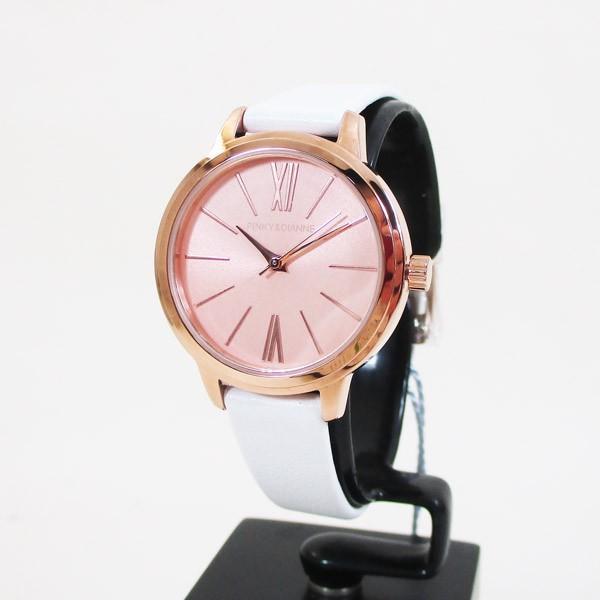 ピンキー&ダイアン 腕時計 革ベルト ホワイト レディース 婦人 PD104PPKWH/1237/送料無料 saponintaiga 02