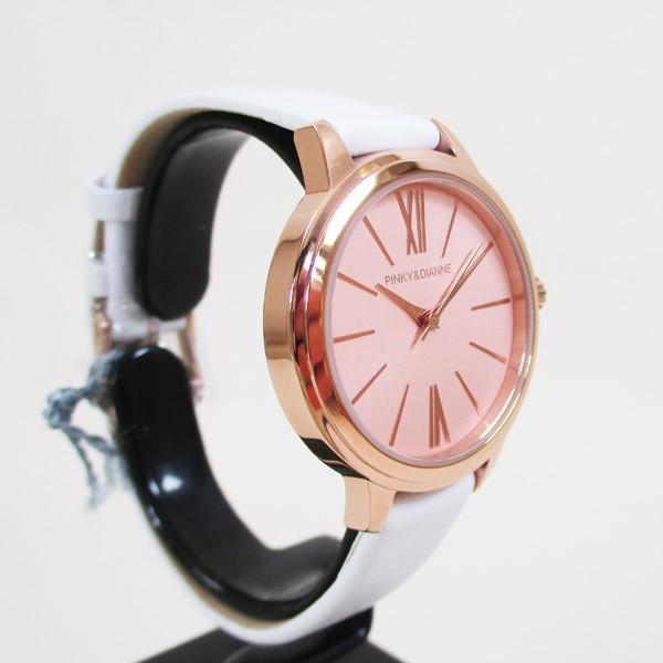 ピンキー&ダイアン 腕時計 革ベルト ホワイト レディース 婦人 PD104PPKWH/1237/送料無料 saponintaiga 04