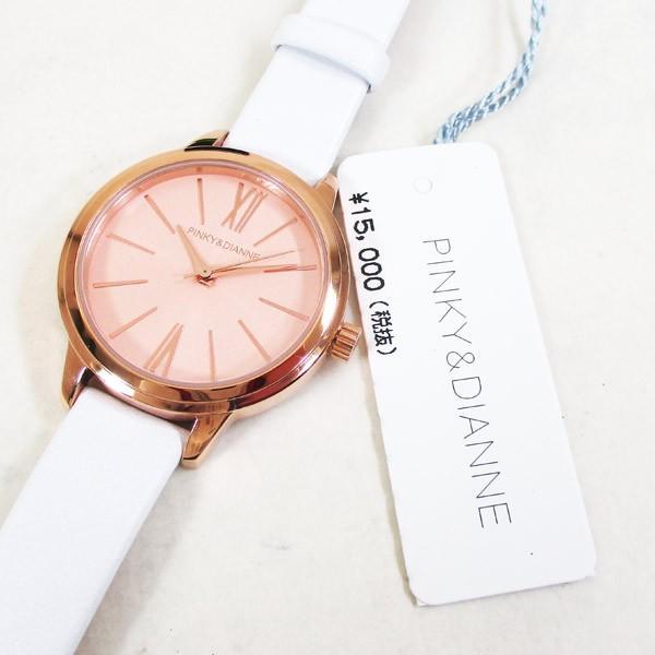 ピンキー&ダイアン 腕時計 革ベルト ホワイト レディース 婦人 PD104PPKWH/1237/送料無料 saponintaiga 06