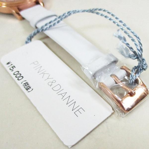 ピンキー&ダイアン 腕時計 革ベルト ホワイト レディース 婦人 PD104PPKWH/1237/送料無料 saponintaiga 07