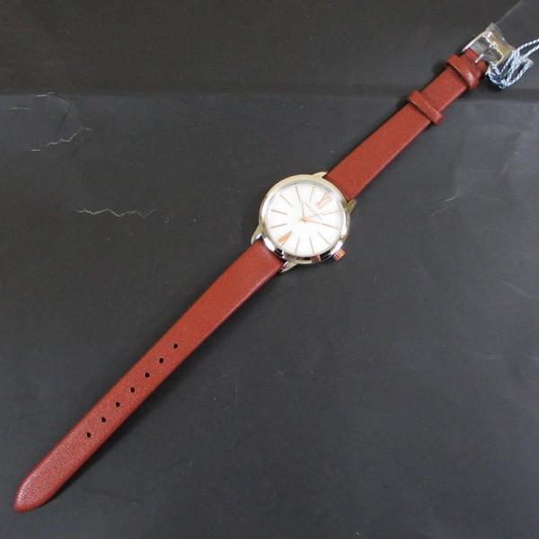 ピンキー&ダイアン 腕時計 革ベルト ブラウン レディース 婦人 PD104SWHBR/1213/送料無料|saponintaiga|07