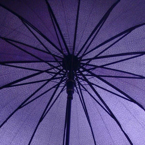 和傘 16本骨 ポンジージャンプ傘  ライトブルー(空)直径94cmのワイドサイズx1本/法人配送のみ/個人宅配送不可|saponintaiga|07