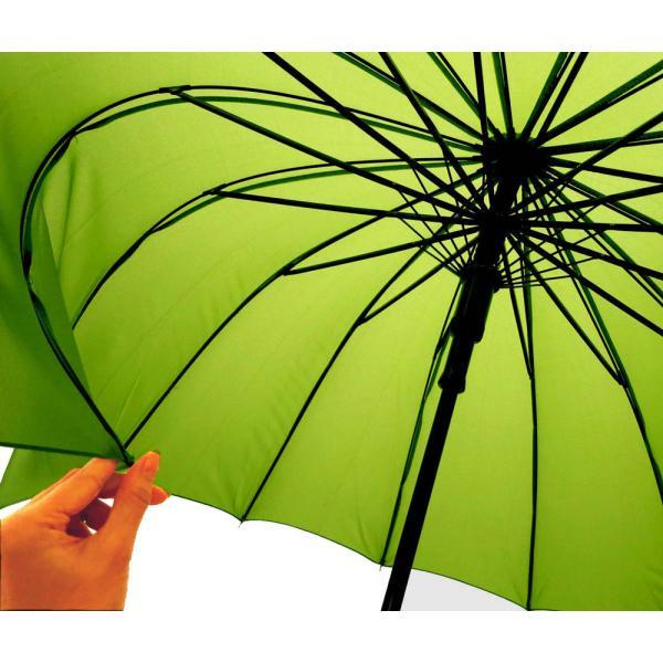 和傘 16本骨 ポンジージャンプ傘  ネイビー 直径94cmのワイドサイズx1本/法人配送のみ/個人宅配送不可/送料無料|saponintaiga|04