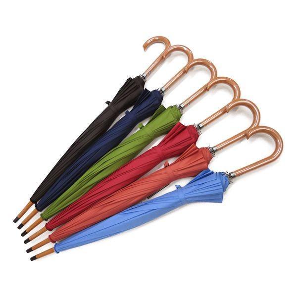 和傘 16本骨 ポンジージャンプ傘  ネイビー 直径94cmのワイドサイズx1本/法人配送のみ/個人宅配送不可/送料無料|saponintaiga|06