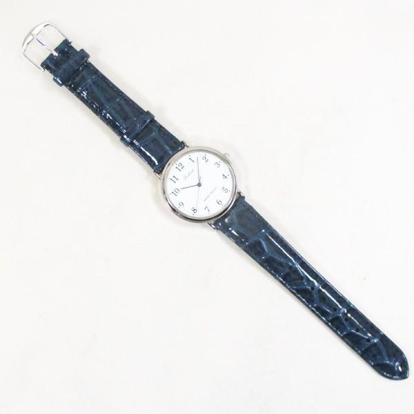 シチズン ファルコン 腕時計 日本製ムーブメント 革ベルト ネイビー/紺 Q996-324 メンズ 紳士/送料無料メール便 ポイント消化|saponintaiga