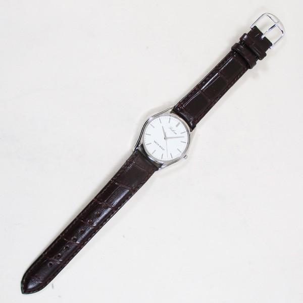 シチズン ファルコン 腕時計 日本製ムーブメント 革ベルト ブラウン/茶 QA00-321 メンズ 紳士/送料無料メール便 ポイント消化 saponintaiga