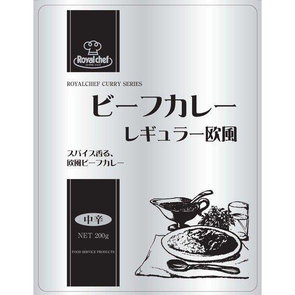 レトルト ビーフカレー レギュラー 欧風中辛 200g UCC RCH/ロイヤルシェフ 業務用x1食