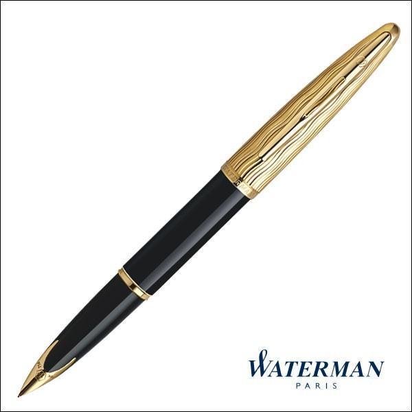 ウォーターマン 万年筆 カレン・デラックス エッセンシャル ブラックGT(S222710)送料無料|saponintaiga|03