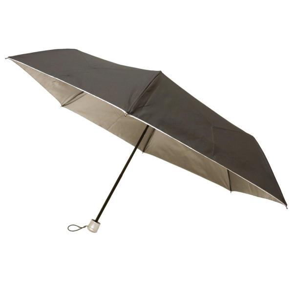 折りたたみ日傘 晴雨兼用傘 男女お使いいただける 折りたたみ傘 グラスファイバー ブラック#677x1本/送料無料 saponintaiga