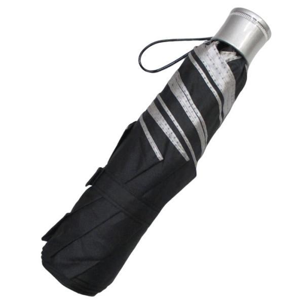 折りたたみ日傘 晴雨兼用傘 男女お使いいただける 折りたたみ傘 グラスファイバー ブラック#677x1本/送料無料 saponintaiga 02