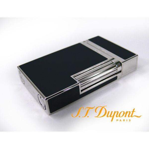 デュポン ダブルフレーム仕様 ライター 黒漆ブラック 016296 ライン2/送料無料