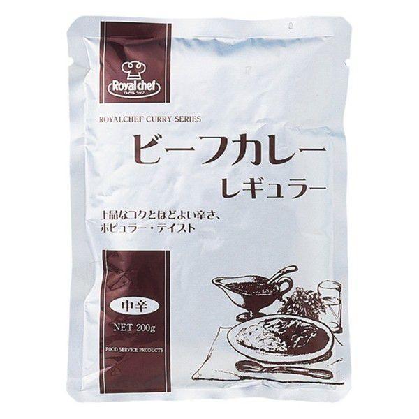 レトルト ビーフカレー レギュラー 中辛 200g UCC RCH/ロイヤルシェフ 業務用x1食