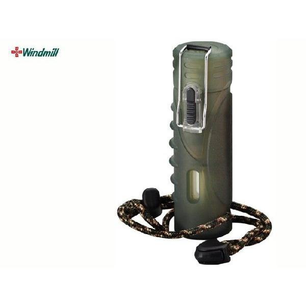 ウインドミル 内燃式ガスライター Quest グリーンスモーク w03-0003/送料無料
