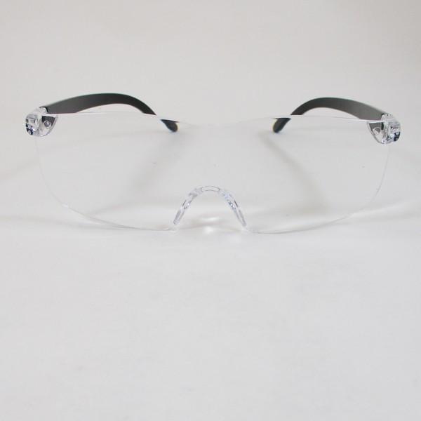 メガネ型ルーペ ブルーライトカット 1.6倍 眼鏡型ルーペx2個セット/送料無料|saponintaiga|02