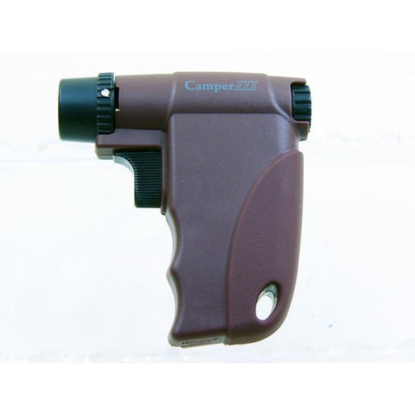 ウインドミル ターボライター キャンパー3(ガンタイプ ファイヤースターター)バーガンディW14-0004