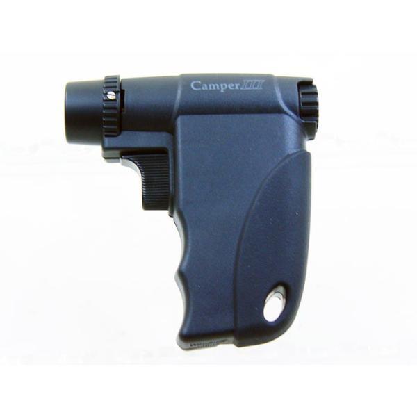 ウインドミル ターボライター キャンパー3(ガンタイプ ファイヤースターター)ブラックW14-0001/送料無料