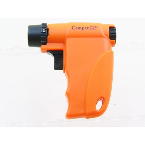 ウインドミル ターボライター キャンパー3(ガンタイプ ファイヤースターター)オレンジW14-0002/送料無料