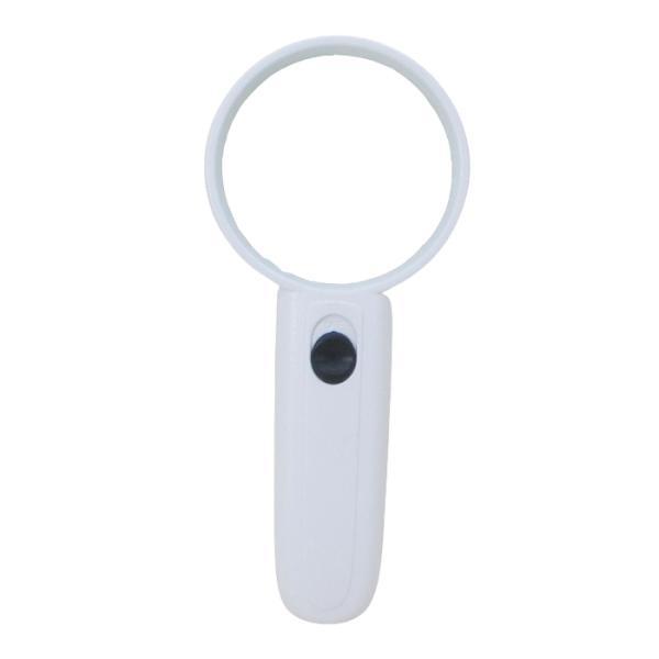 拡大鏡 虫眼鏡 照らすルーペ LEDライト内蔵 Mサイズ WJ-532x1本/送料無料メール便 ポイント消化