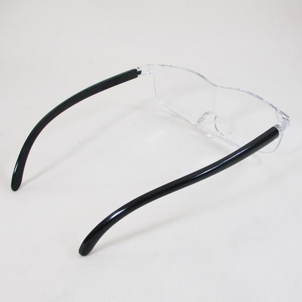 メガネ型ルーペ ブルーライトカット 1.6倍 ノンスリップ鼻パッド 眼鏡型ルーペ WJ-8069x3本セット/卸/送料無料|saponintaiga|03