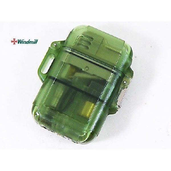 ウインドミル ターボライター Zag グリーンスモーク(0029-1)x1個/送料無料
