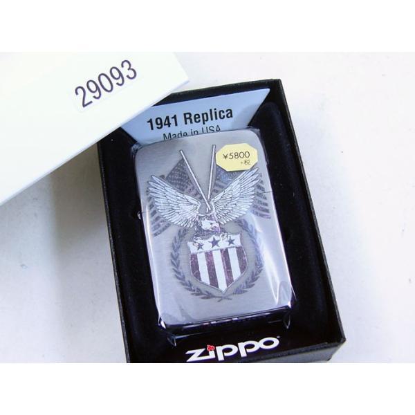 Zippo アメリカ加工 ジッポー 29093 American Eagle saponintaiga