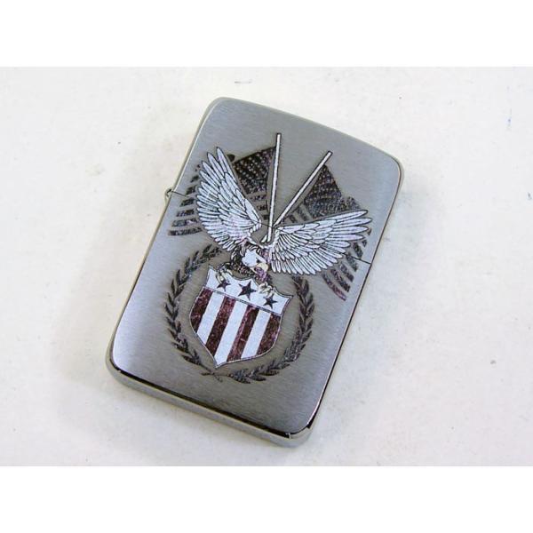 Zippo アメリカ加工 ジッポー 29093 American Eagle saponintaiga 02