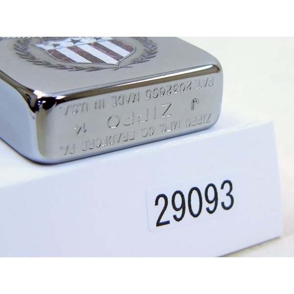 Zippo アメリカ加工 ジッポー 29093 American Eagle saponintaiga 04