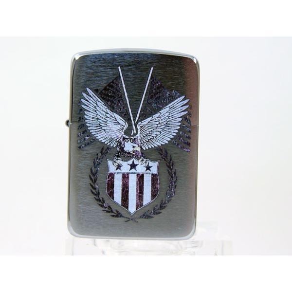 Zippo アメリカ加工 ジッポー 29093 American Eagle saponintaiga 05