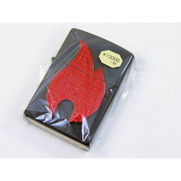 Zippo アメリカ加工 ジッポー 29106 FIRE stone plate|saponintaiga|02