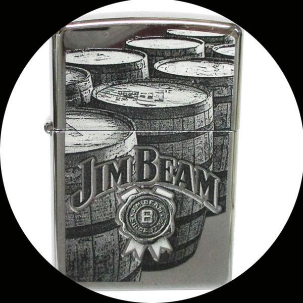 Zippo アメリカ加工 ジッポー JIM BEAM 29324 ジムビーム バーボン ウイスキー/送料無料