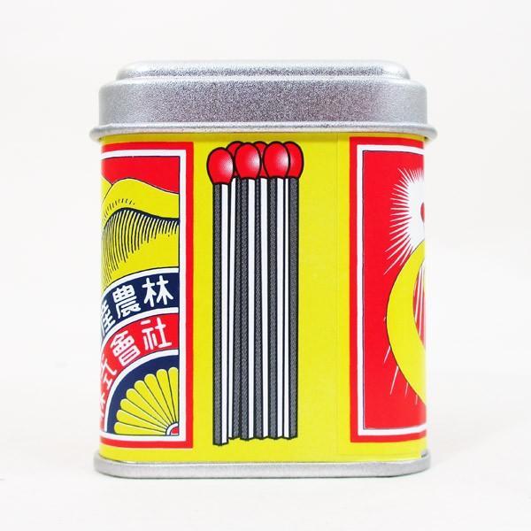 マッチ 象印 日本製 デミタス缶マッチ ノスタルジア柄(約120本入)x3缶セット/送料無料|saponintaiga|06
