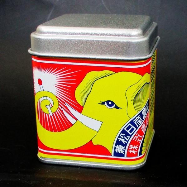マッチ 象印 日本製 デミタス缶マッチ ノスタルジア柄(約120本入)x3缶セット/送料無料|saponintaiga|07