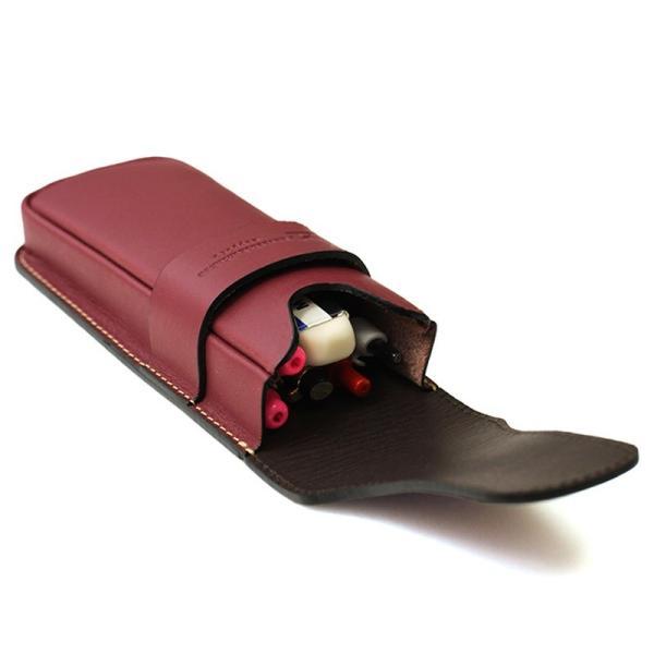 札幌革職人館 かぶせペンケース 革 レザー 本革 メンズ レディース 日本製 ギフト ペンケース プレゼント 贈り物 バレンタイン|sapporo-kawa|11