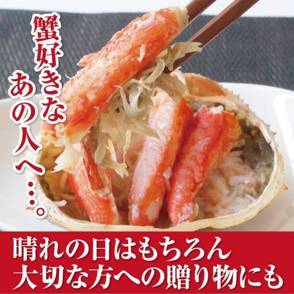 蟹甲羅盛り 85g×2個セット ずわい蟹 蝦夷番屋 北海道 |sapporo-rinkou|09